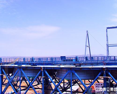 景泰电厂空冷岛